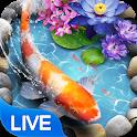 Koi Fish Theme & Lively 3D Ripple Effect icon