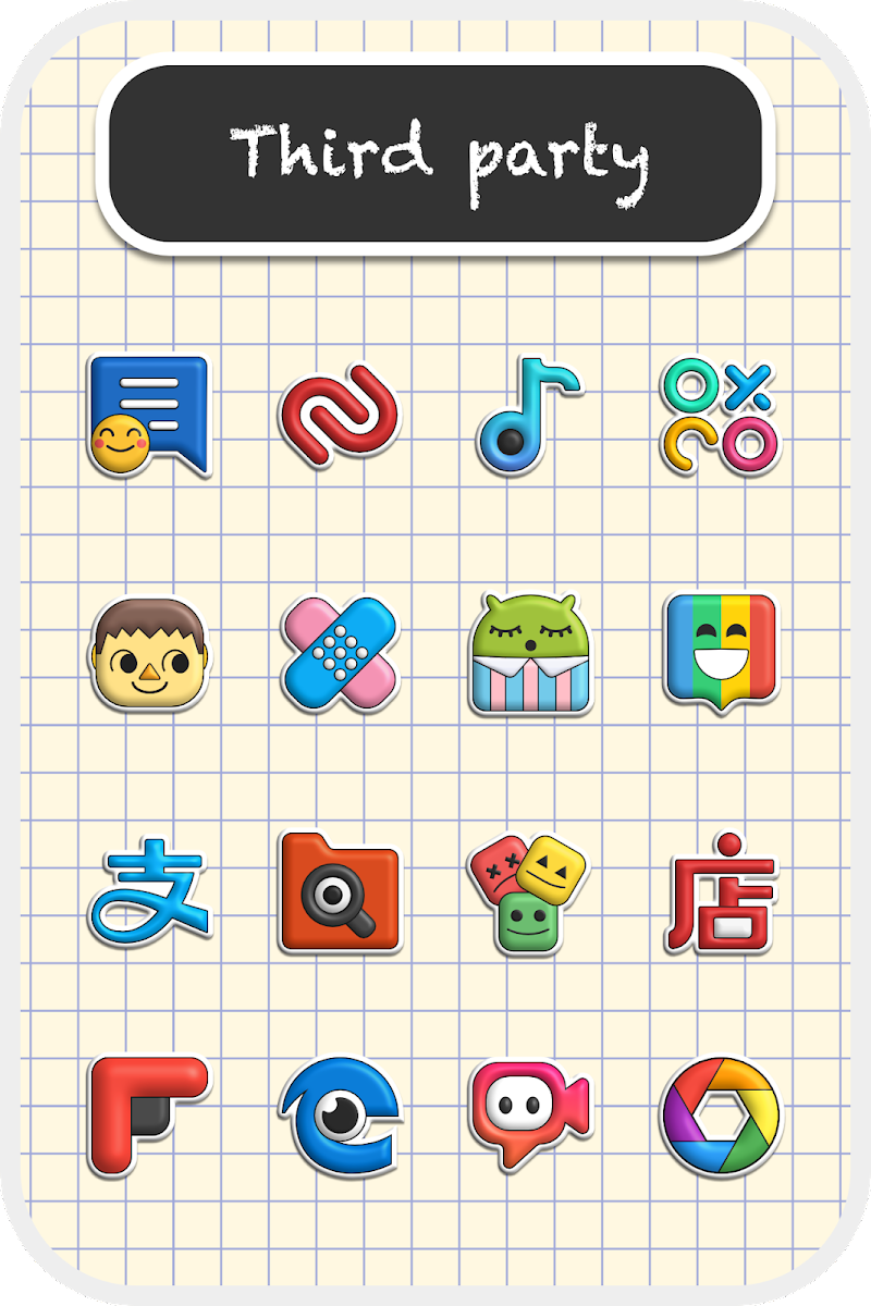Poppin icon pack Screenshot 4