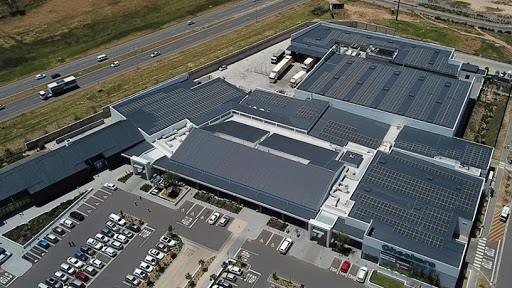Checkers Sitari (Somerset West) harnesses the power of the sun for its operations.