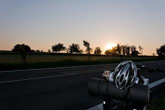 Photo: Zachód słońca już bliski.