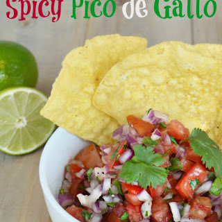 Spicy Pico De Gallo Recipe
