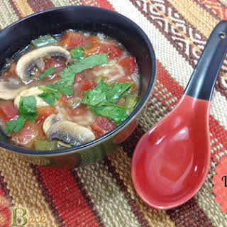Spicy Lemongrass Soup.