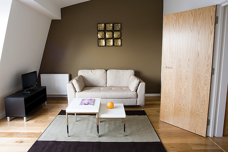living space at Notting Hill Apartments
