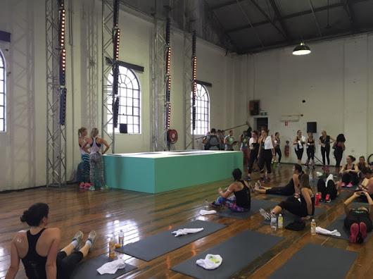 N+TC Tour Sydney: Pilates Class