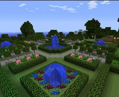 garden for minecraft build ideas screenshot thumbnail - Minecraft Pe Garden Ideas