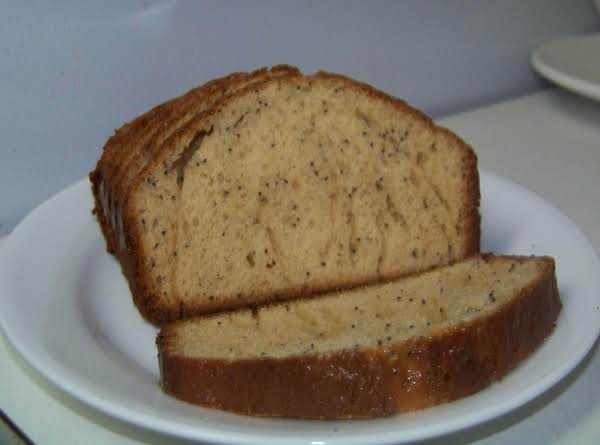 Poppyseed Bread Recipe