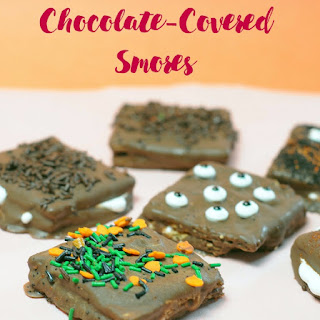 Chocolate Covered Smores Bars