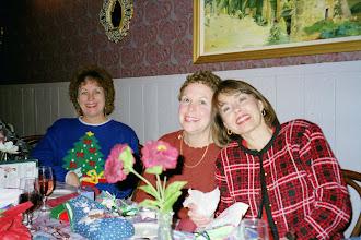 Photo: Christmas 1998. Carol (Craven) Barnes, Susan (Granrath) Quist, Barbara (Novosad) Stueve