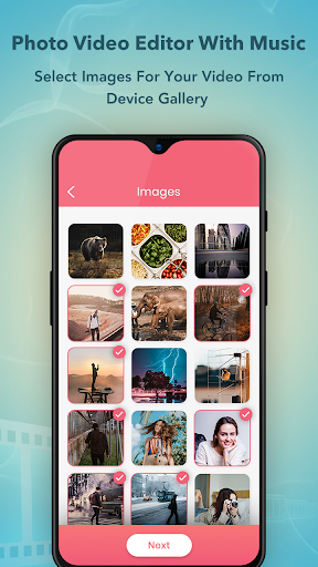Photo Video Maker with Music : Video Editor screenshot 1