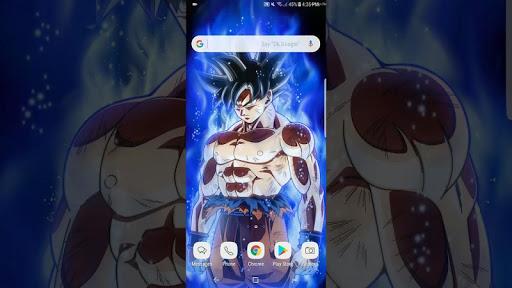 Ultra Instinct Goku Wallpapers HD 1.0 screenshots 3