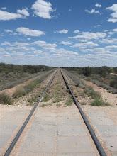 Photo: železnice do Darwinu
