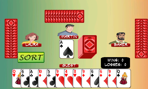 rummy online - náhled