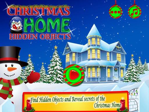 Christmas Home Hidden Object