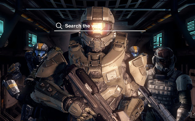 Master Chief Halo Hd Wallpapers Tab Theme
