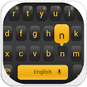 Simple Black Keyboard icon
