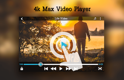 4K MAX Video Player - náhled