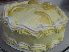 """Lemon Supreme Cake For Layer 9"""" Cake"""