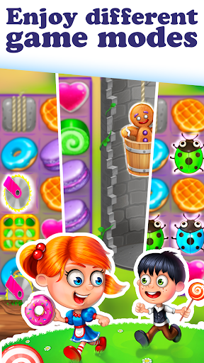 Gingy Story Deluxe: match 3 screenshot 4
