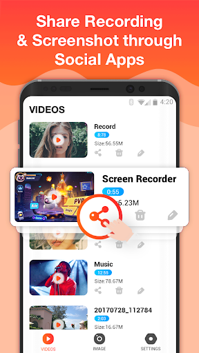 Screen Recorder For Game, Video Call, Online Video 1.1.7 screenshots 4