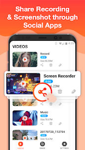 Screen Recorder For Game, Video Call, Online Video 4