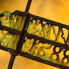 Anno 1688 by D L - Artistic Objects Signs ( estonia, europe, zuiderdam, texture, ms, line, travel, baltic, concrete, city, urban, color, indonesia, graffiti, lines, ms zuiderdam, tallinn )