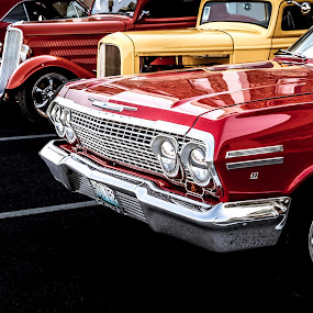 by Dougetta Nuneviller - Transportation Automobiles ( car, old, vintage, automobile, chrome, hotrod, beauty, classic )