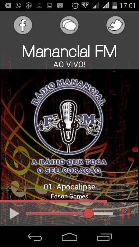 Rádio Manancial FM- screenshot