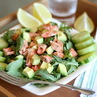 Salmon Avocado Salad.