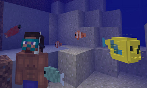 Mod Fishes for MCPE - náhled