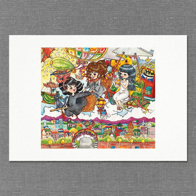 A3 Paper Print【Dawn】 by Jeovine