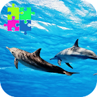 Wild Dolphins Jigsaw Puzzle Game