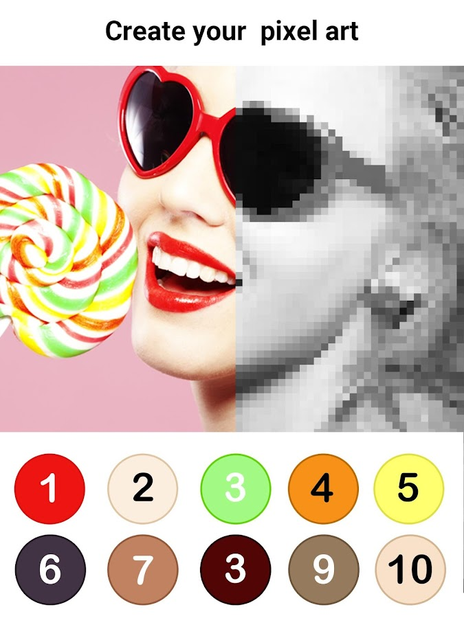 No.Draw - Colors by Number ®- screenshot