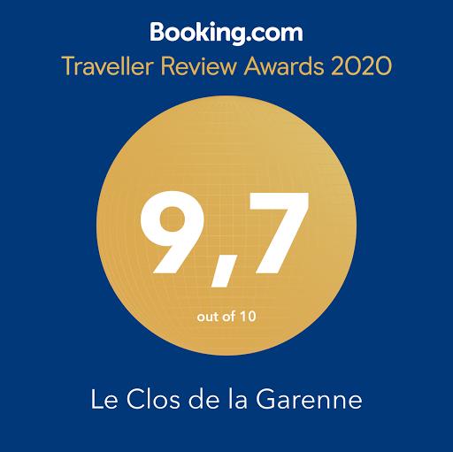 booking traveller review awards 2020 le clos de la garenne