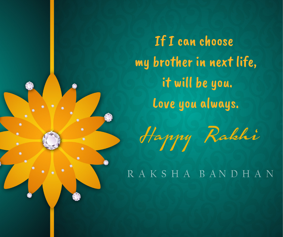 rakhi messages for brother