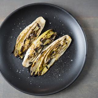 Grilled Belgian Endive with Meyer Lemon and Shallot Dressing