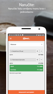 App Donesi - Food Delivery APK for Windows Phone