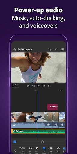 Adobe Premiere Rush u2014 Video Editor screenshots 6