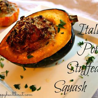 Italian Pork Stuffed Squash