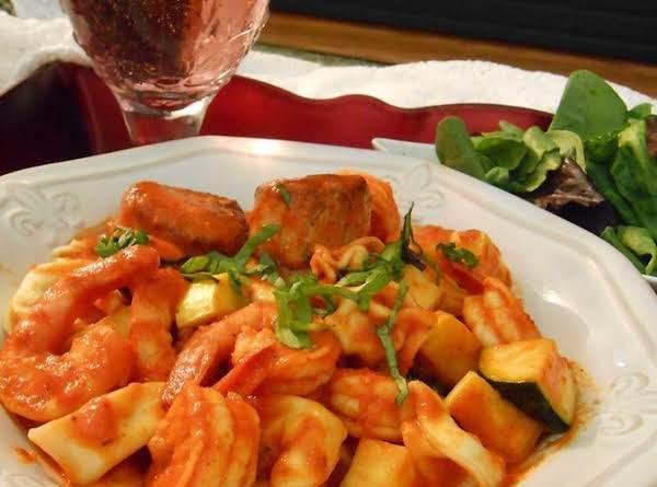 Seafood Vesuvius