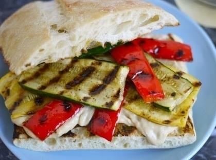 Lisa's Grilled California Veggie Sandwich Recipe