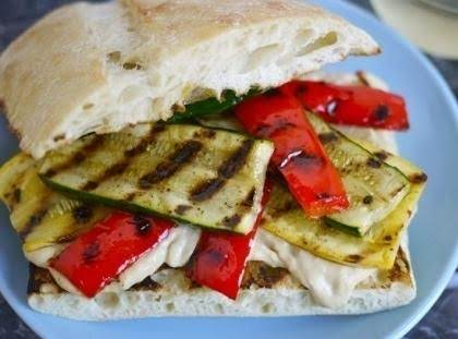 Lisa's Grilled California Veggie Sandwich Recipe