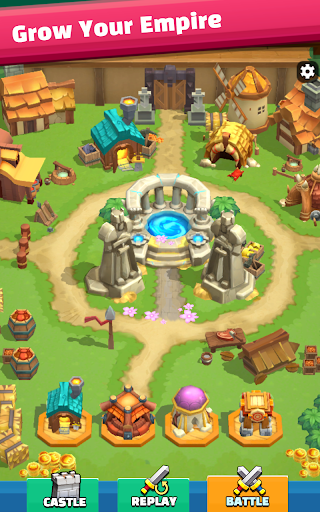 Wild Castle: 3D Offline Strategy Defender TD  screenshots 3