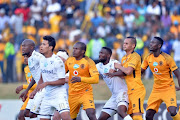 Bidvest Wits and Kaizer Chiefs during the Telkom Knockout Semi Final match between Bidvest Wits and Kaizer Chiefs at Bidvest Stadium on November 18, 2017 in Johannesburg.