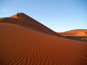 Photo: Désert du Namib, la dune 45 à Sossusvlei en Namibie
