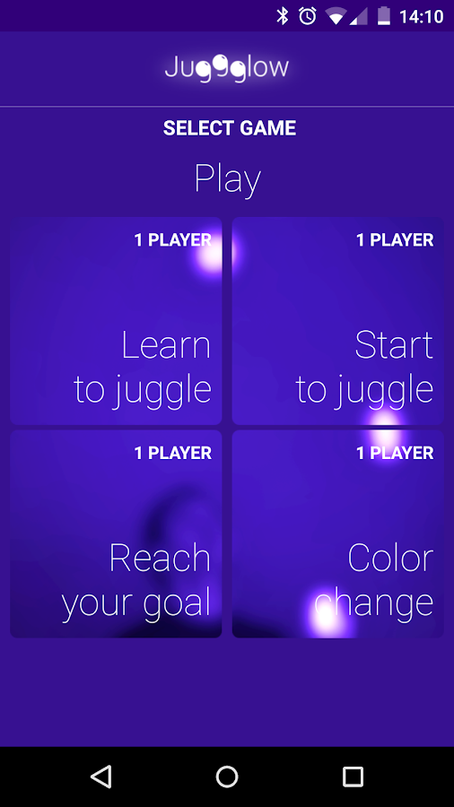 Juggglow- screenshot