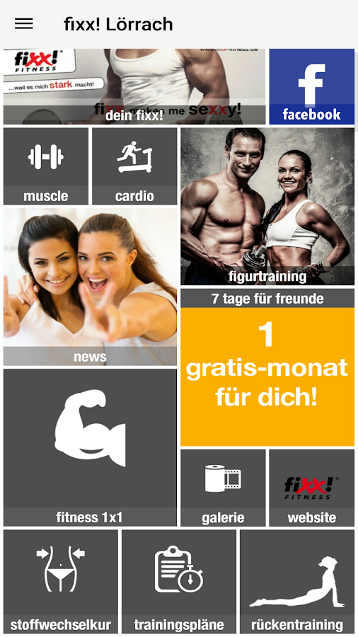 fixx! Fitness- screenshot