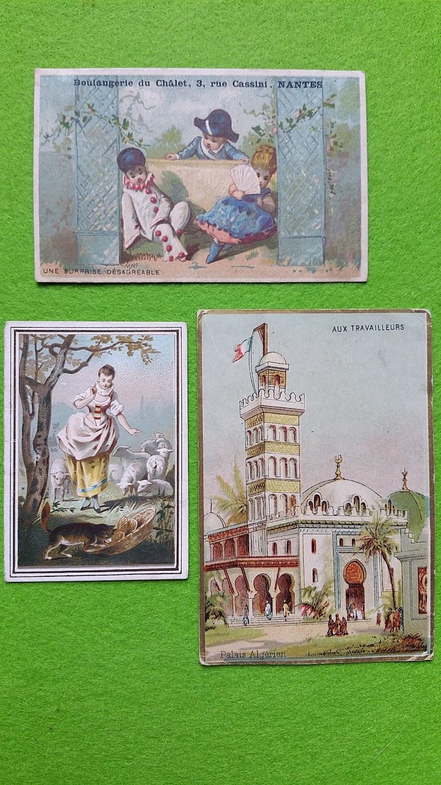 Taschenkalender, Frankreich, 1881, 1887, 1890