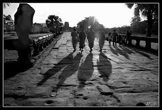 Photo: Monks at Angkor Wat My contribution to: #monochromemonday +Monochrome Monday by +Hans Berendsen+Jerry Johnson+Manuel Votta+Steve Barge #breakfastclub +Breakfast Club+Gemma Costa #breakfastartclub +Breakfast Art Clubby +Kate Church #plusphotoextract by +Jarek Klimek