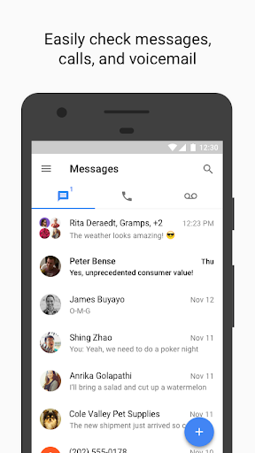Google Voice Screenshot