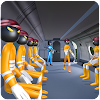 Stickman Kriminelle Transport Flugzeug APK